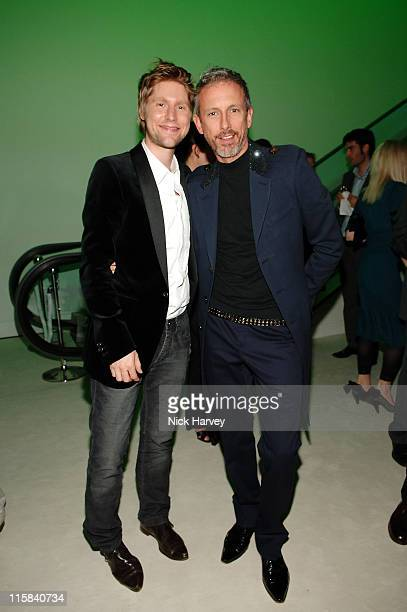 Creative Director of Burberry Christopher Bailey and Patrick Cox
