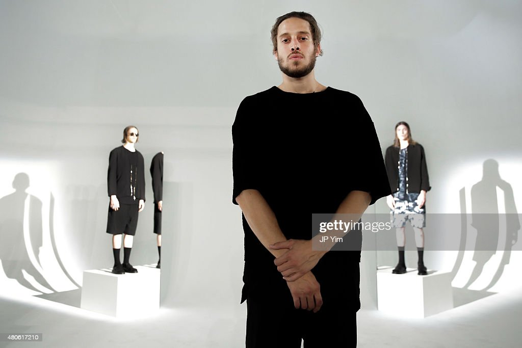 Creative Director of Chapter Devin Carlson attends the Chapter Presentation during New York Fashion Week: Men's S/S 2016 at Industria Superstudio on July 13, 2015 in New York City.