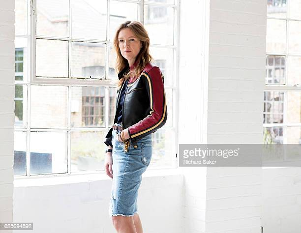 Creative director of Chloé Clare Waight Keller is photographed for the Guardian on July 15 2016 in London England