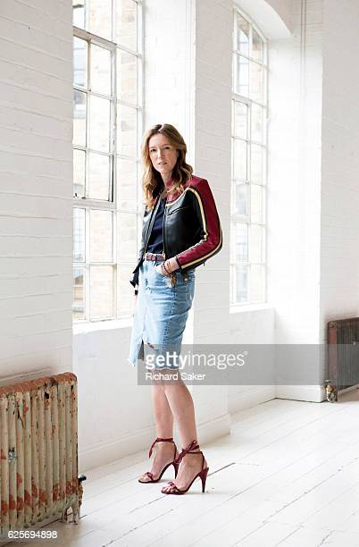 Creative director of ChloÈ Clare Waight Keller is photographed for the Guardian on July 15 2016 in London England