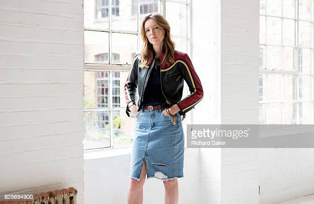 Creative director of Chloé, Clare Waight Keller is photographed for the Guardian on July 15, 2016 in London, England.