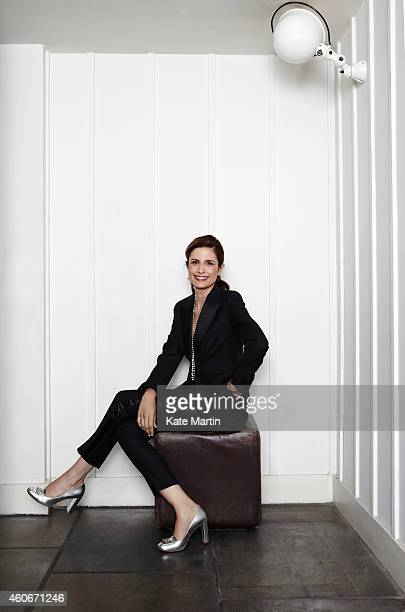 Creative director of Eco Age Limited and wife of actor Colin Firth Livia Firth is photographed for Country Town House magazine on July 8 2013 in...