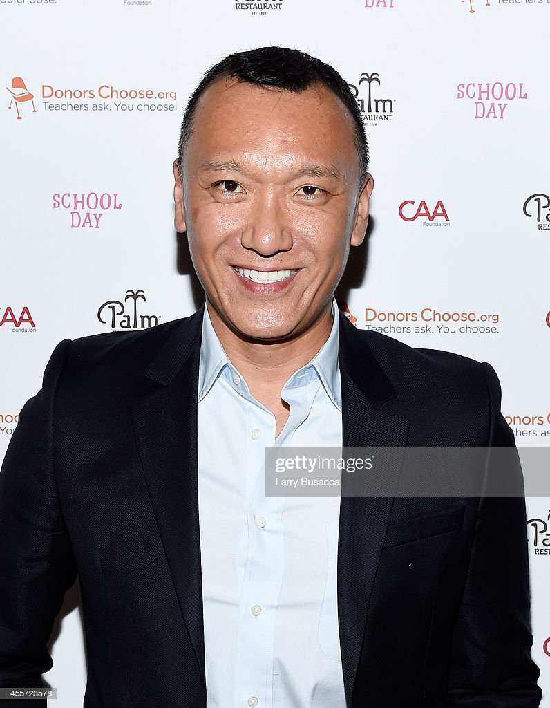 Creative Director of Elle Joe Zee attends CAA Foundation's School Day event benefiting donorschoose.org at The Palm One on September 18, 2014 in New York City.