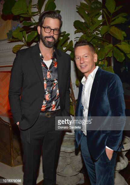 Creative Director of GQ Will Welch and EditorInChief of GQ Jim Nelson attend a private dinner hosted by GQ and Dior in celebration of the 2018 GQ Men...