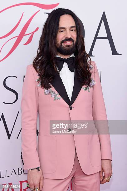 Creative director of Gucci Alessandro Michele attends the 2016 CFDA Fashion Awards at the Hammerstein Ballroom on June 6 2016 in New York City