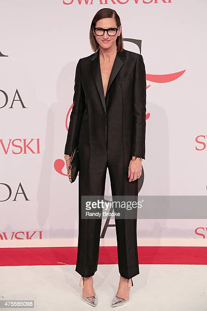 Creative Director of J Crew Jenna Lyons attends the 2015 CFDA Fashion Awards at Alice Tully Hall at Lincoln Center on June 1 2015 in New York City