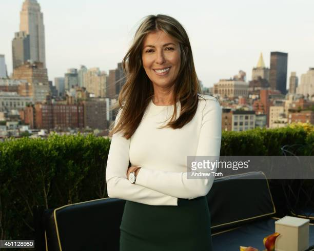 Creative Director of Marie Claire Magazine Nina Garcia poses for a photo during the launch of the new Withings Activite watch at PHD at the Dream...
