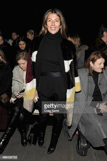 Creative Director of Marie Claire Nina Garcia attends the 31 Phillip Lim fashion show during MercedesBenz Fashion Week Fall 2014 at Skylight at...