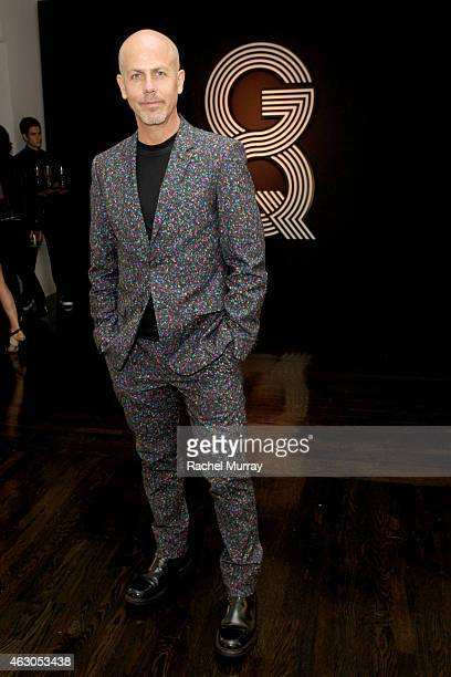 Creative Director of Menswear for Calvin Klein Italo Zucchelli attends GQ and Giorgio Armani Grammys After Party at Hollywood Athletic Club on...