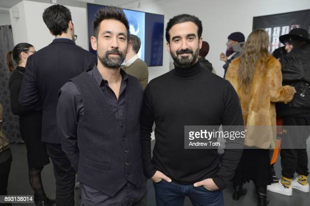 Creative Director of Vero Alistair Stiegmann and CEO of Vero Ayman Hariri attend Robert Whitman Presents Prince 'Pre Fame' Private Viewing Event...