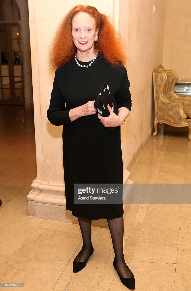Creative Director of Vogue, Grace Coddington attends the