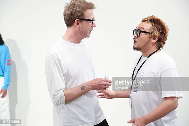 Creative Director Ryohei Kawanishi attends the Landlord fashion presentation during New York Fashion Week Men's S/S 2017 at Skylight Clarkson Sq on...