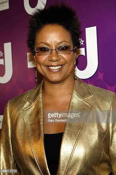 Creative director/Ebony magazine Harriet Cole attends the premiere of BETs Real Life Divas at Merkato 55 on October 23 2008 in New York City