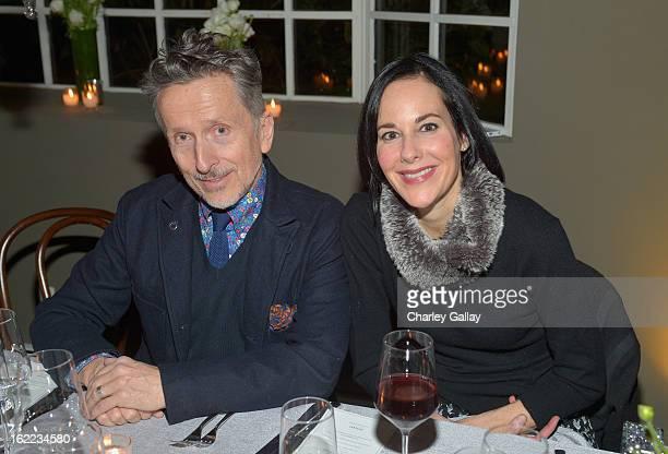 Creative embassador at Barneys Simon Doonan and Vanity Fair editor Punch Hutton attend the Vanity Fair Barneys New York and The Weinstein Company...