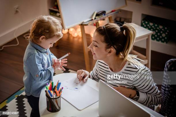 creative family time - time stock photos and pictures