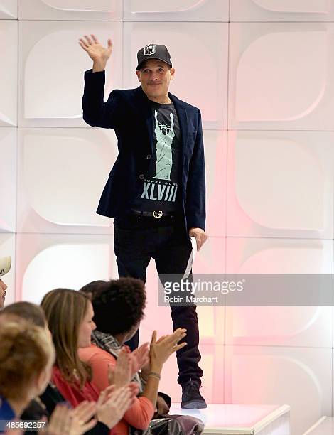 Creative Fashion Director Phillip Bloch attends Macy's Warm Welcome To Super Bowl XLVIII at Macy's Herald Square on January 28 2014 in New York City