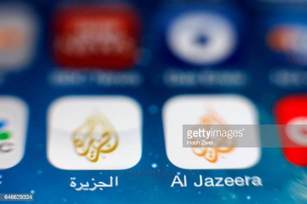 'Al Jazeera' iPhone mobile app icon