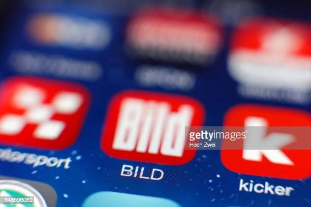 BILDIcon auf einem auf einem iPhone