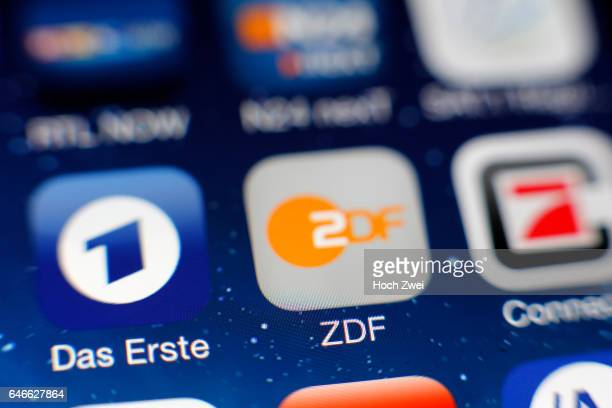 'Das Erste' und ZDFIcon auf einem auf einem iPhone