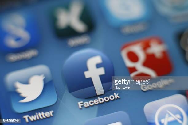 Facebook iPhone mobile app icon