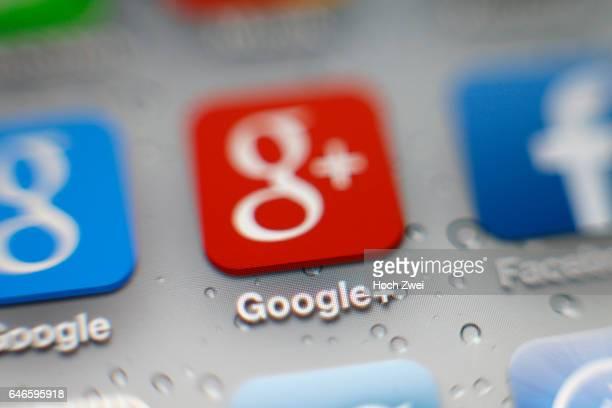 GoogleApp auf einem iPhone
