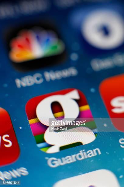GuardianIcon auf einem auf einem iPhone