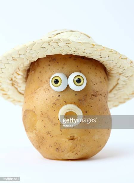 creative fruits and vegetables - raw potato stock pictures, royalty-free photos & images