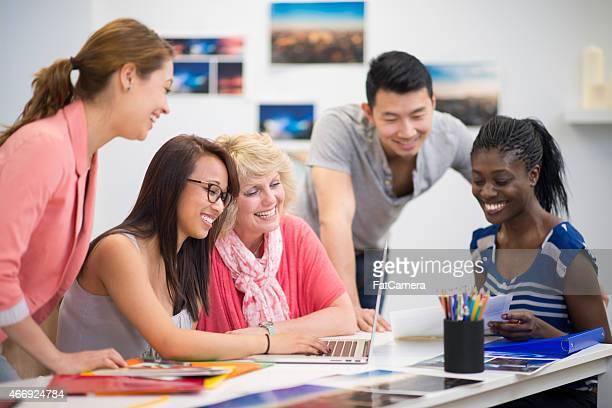 Creative Group Brainstorming