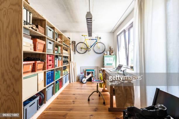 創造的なホーム オフィス - 趣味 ストックフォトと画像