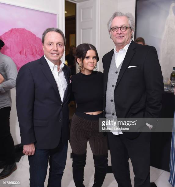 VP Creative Jody Williams musician Maren Morris Country Music Hall of Fame Museum CEO Kyle Young attend the Country Music Hall Of Fame And Museum...