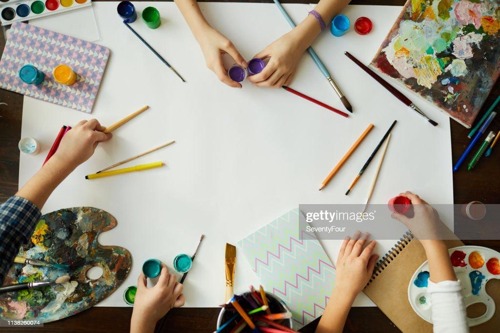 Creative Kids Background : Stock Photo