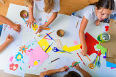 Creative kids. Creative Arts and Crafts Classes in After School Activities.