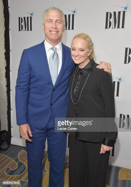 EVP Creative Licensing BMI Mike Steinberg and BMI Vice President Worldwide Creative and Advisor to the EVP Creative Licensing Barbara Cane attend...