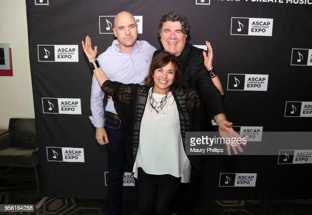 Creative Manager at ASCAP Robert Filhart Assistant Vice President Pop/Rock Membership at ASCAP Loretta Munoz and Songwriter/Producer/Arranger Darrell...
