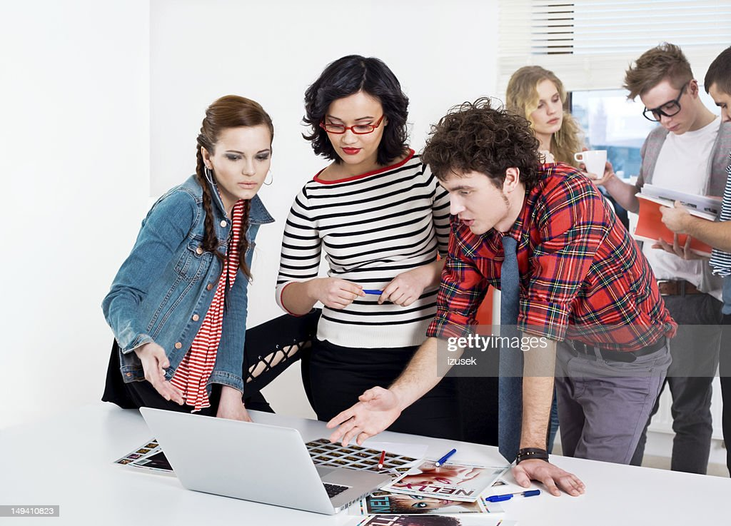 Creativas de reuniones : Foto de stock