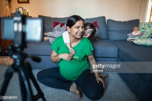 a creative mother - femalefocuscollection stock pictures, royalty-free photos & images