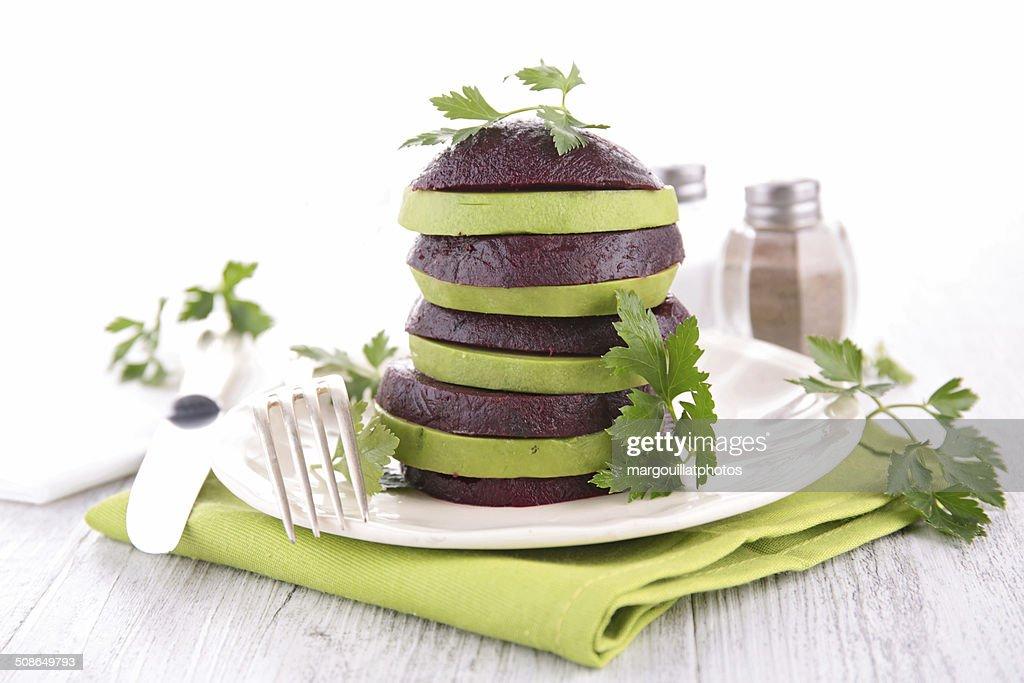 creative salad : Stock Photo