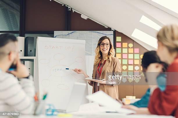 Arranque criativo de negócios apresentação.