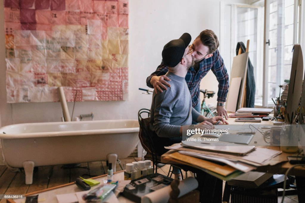 Creatives celebrating successful projects : Stock Photo