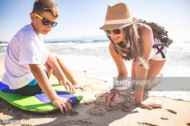 Creativity on the sand