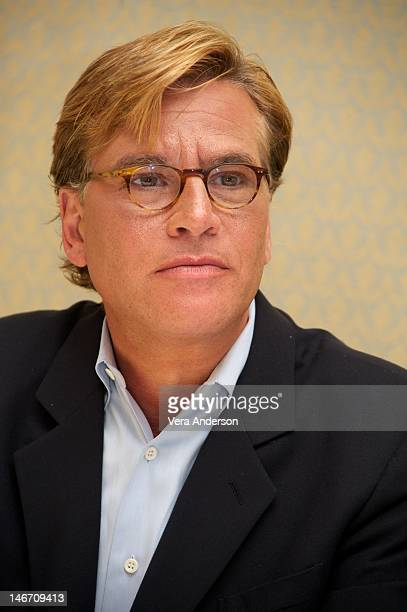 Creator Aaron Sorkin at 'The Newsroom' Press Conference at the Four Seasons Hotel on June 21 2012 in Beverly Hills California