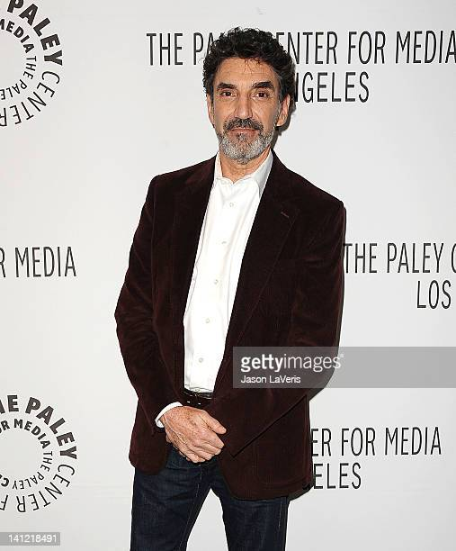 Creator and executive producer Chuck Lorre attends the 'Two And A Half Men' event at PaleyFest 2012 at Saban Theatre on March 12 2012 in Beverly...