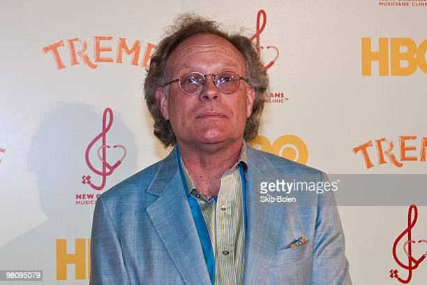 """Creator and Executive Producer Eric Overmyer attends HBO's series """"Treme"""" New Orleans fundraiser at Generations Hall on March 27, 2010 in New..."""