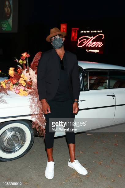 "Creator and Executive Producer Little Marvin attends Amazon Studios' ""Them"" Drive-in Special Screening on April 08, 2021 in Compton, California."