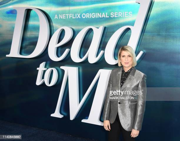 Creator and executive producer Liz Feldman arrives for the premiere of Netflix's Dead To Me Season 1 at the Broad Stage in Santa Monica California on...