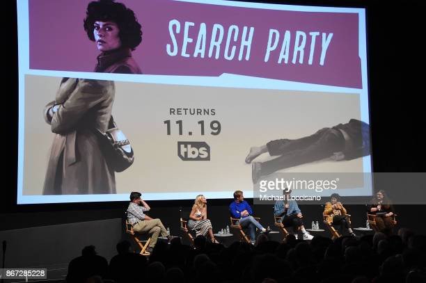 Creator and executive producer Michael Showalter and actors Meredith Hagner John Early John Reynolds and Alia Shawkat take part in a panel discussion...