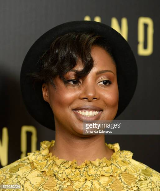 """Creator and executive producer Misha Green arrives at the For Your Consideration Event for WGN America's """"Underground"""" at The Landmark on May 2, 2017..."""