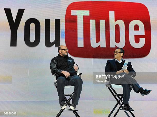 Creator and executive producer of the CSI television shows Anthony E Zuiker and MediaLink LLC Chairman and CEO Michael Kassan speak during the...