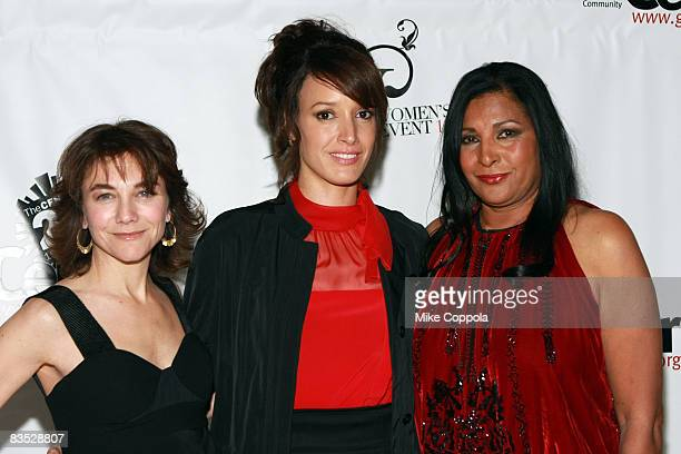 Creator and Executive Producer of The L Word Ilene Chaiken Jennifer Beals Pam Grier the Lesbian Gay Bisexual Transgender Community Center 25th...