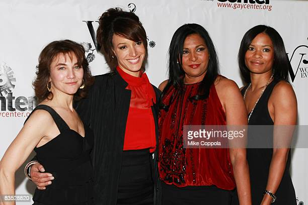 Creator and Executive Producer of The L Word Ilene Chaiken Jennifer Beals Pam Grier and Rose Rollins attend the Lesbian Gay Bisexual Transgender...
